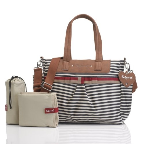 Babymel Cara Changing Bag - Navy Stripe