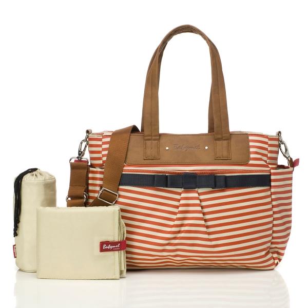 Babymel Cara Changing Bag - Red Stripe