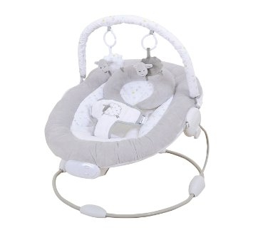 Silver Cloud Counting Sheep Baby Bouncer